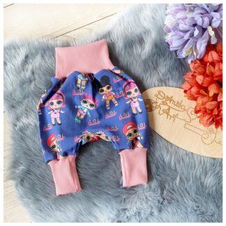 spodnie noworodka